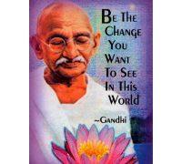 Ghandi idézetek